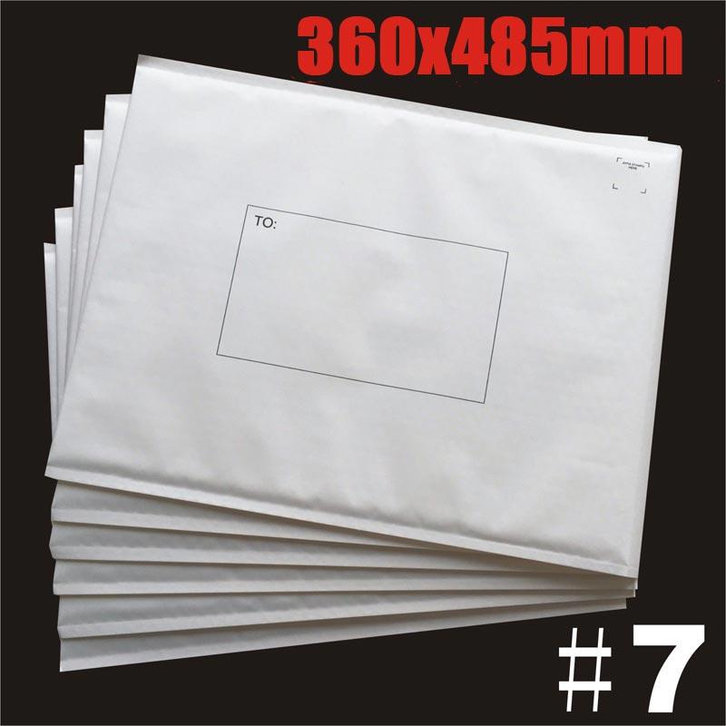 360x485mm Plain White Bubble Padded Bag Mailer Envelope
