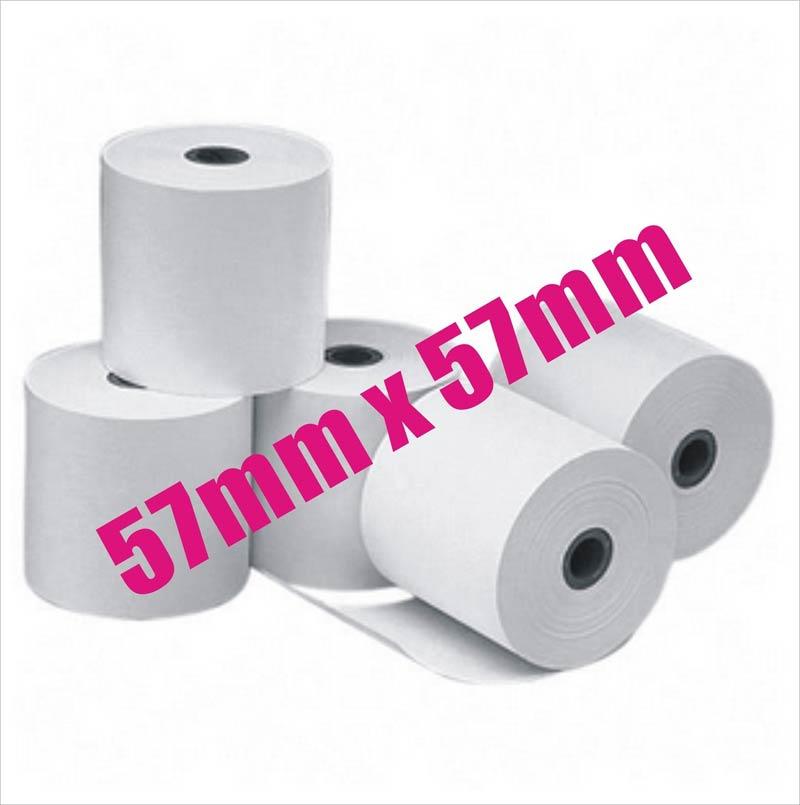 57x57mm Premium Thermal Paper Cash Register Receipt Rolls EFTPOS