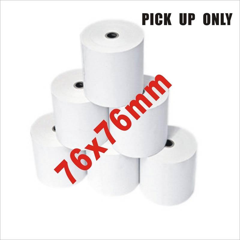 76x76mm Premium Thermal Paper Cash Register Receipt Rolls