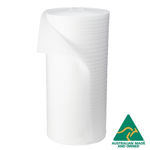 1200mm x 100M Foam Wrap Roll 2mm Thick Polyfoam Wrap