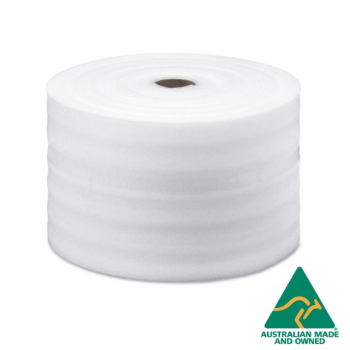 Polyfoam 400mm x 100m Thick Packing Foam Wrap Roll 1mm 40cm Wide Foam Wrap