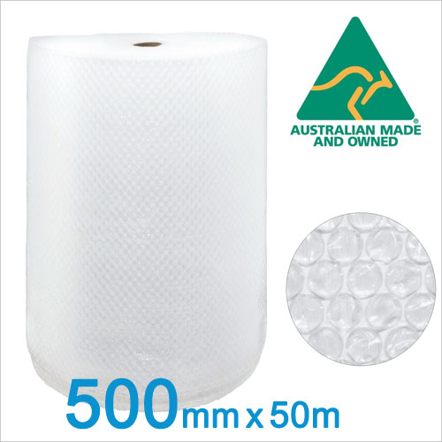 Buy 500mm x 50m - 10mm Bubble Wrap